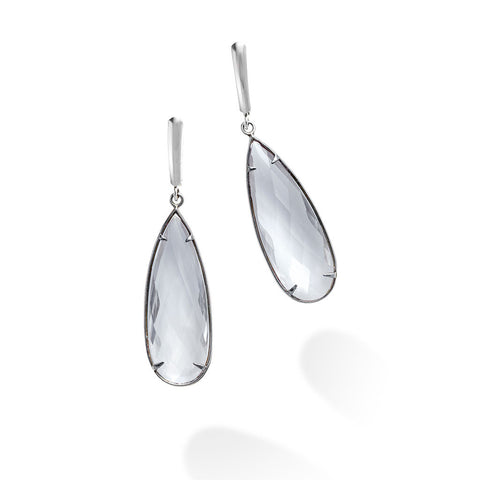 FACET PENDULUM DROP EARRINGS