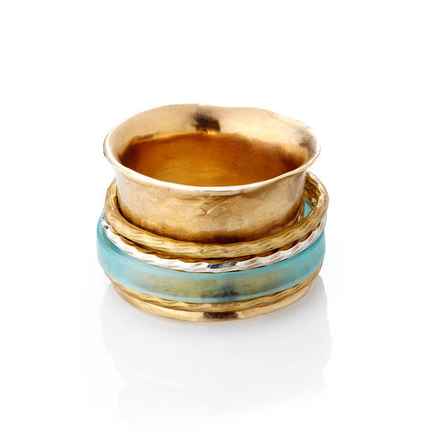ACRYLIC SPUN RING-WHOLESALE