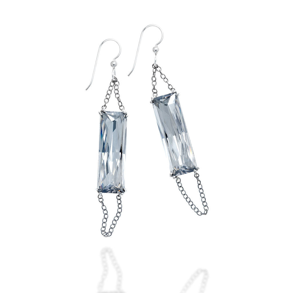FRAGMENT RECTANGULAR EARRINGS