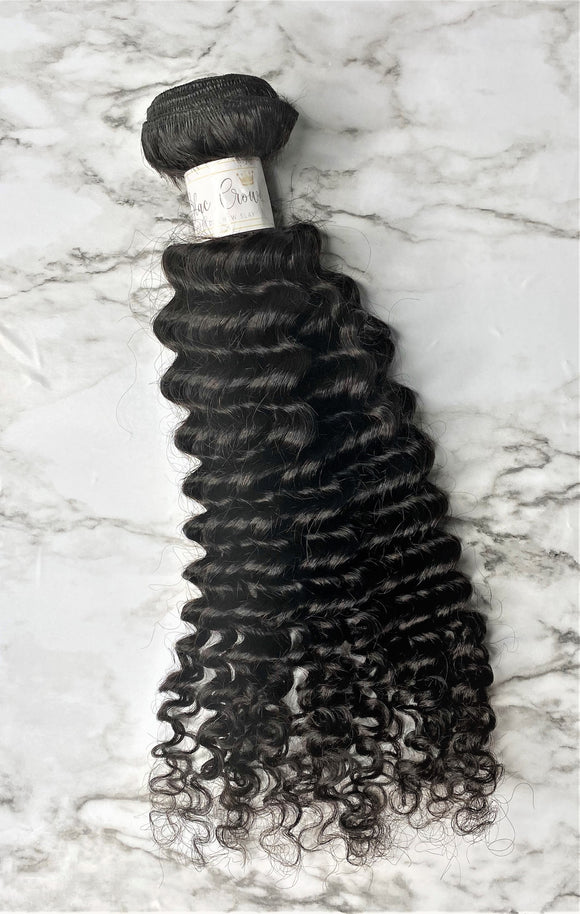 Peruvian Deep Curly Bundle