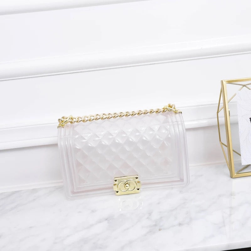 Crystal Clear Jelly Handbags