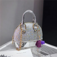 Girls Colorful Sequin Mini Bag