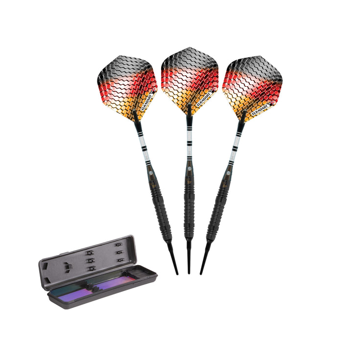 Barrels Only 18g Precision Weighted 90/% Game Room Authority Professional Soft Tip Tungsten Darts//Pleco//