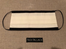Load image into Gallery viewer, IVORY WITH BLACK TRIM BOARDERS / EXCLUSIVE ELEGANT LUXURY DESIGN / FINE COTTON