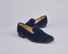 Load image into Gallery viewer, ENGLISH VELVET SLIPPERS / PURPLE VELVET / 6 COLORS / SIZE 6 TO 13