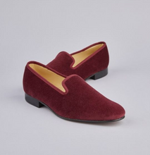 Load image into Gallery viewer, ENGLISH VELVET SHOES / NAVY VELVET / 6 COLORS / SIZE 6 TO 13