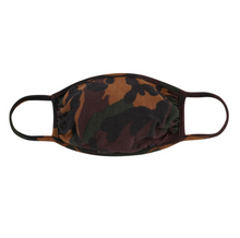 Load image into Gallery viewer, CAMOUFLAGE BROWN / OLIVE / BLACK JERSEY / ADULT AND KIDS