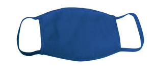 ROYAL BLUE / 15 COLORS / 100% COTTON / 3 LAYERS