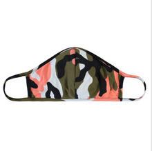 Load image into Gallery viewer, CAMOUFLAGE OLIVE / CORAL / JERSEY / ADULT AND KIDS