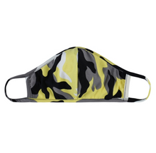 Load image into Gallery viewer, CAMOUFLAGE OLIVE / YELLOW / JERSEY / ADULT AND KIDS