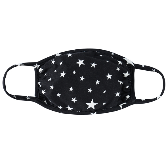 BLACK / WHITE STARS JERSEY / ADULT / SMALL WOMENS / YOUTH / KIDS