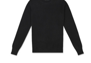 MENS CREW NECK 100% CASHMERE LUXURY SWEATER / 20 COLORS