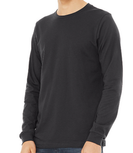 LUXE T-SHIRT LONG SLEEVE JERSEY / 4 COLORS / XS TO XX-L