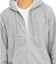 Load image into Gallery viewer, LUXURY SUEDED FLEECE FULL ZIP HOODIE / 3 COLORS / XS TO XX-L