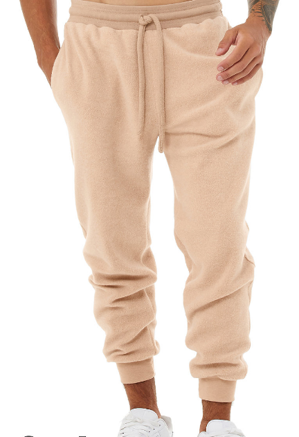 LUXURY SUEDED FLEECE JOGGER / 1 COLOR / XS TO XX-L