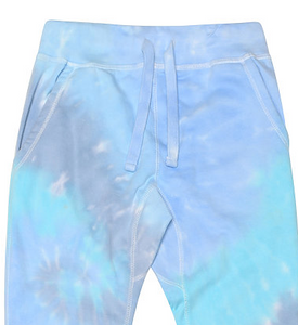 HAND TIE DYE JOGGER FLEECE / XS TO XX-L