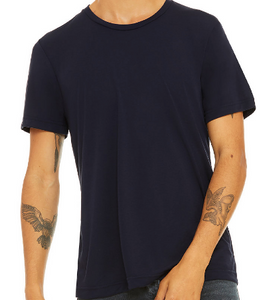 LUXE CREW NECK T-SHIRT SHORT SLEEVE JERSEY / 11 FASHION COLORS / XS TO XX-L