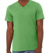 Load image into Gallery viewer, LUXE V-NECK T-SHIRT SHORT SLEEVE JERSEY / 10 COLORS / XS TO XX-L