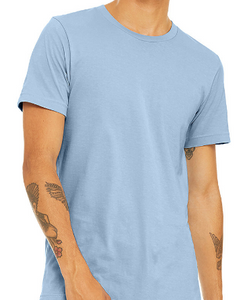 LUXE  CREW NECK T-SHIRT SHORT SLEEVE JERSEY / 5 FASHION COLORS / XS TO XX-L