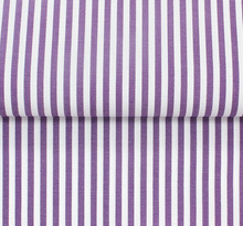 Load image into Gallery viewer, PAJAMAS / CUSTOM HABERDASHERY NARROW STRIPES / PURPLE / LIGHT BLUE / NAVY / BLACK / PINK / RED / BROWN / ORANGE / GREEN