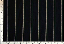 Load image into Gallery viewer, ROBE SHALL COLLAR / SARTORIAL BLACK STRIPE / GREY STRIPE