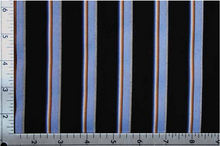 Load image into Gallery viewer, ROBE SHALL COLLAR / ELEGANT STRIPES / 2 COLORS / BLUE STRIPE / PINK STRIPE