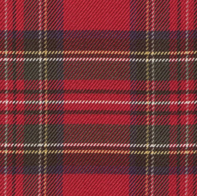 ROBE SHALL COLLAR / 100% SILK TARTAN PLAIDS MADE IN ENGLAND / 3 COLORS