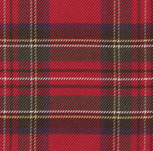 Load image into Gallery viewer, ROBE SHALL COLLAR / 100% SILK TARTAN PLAIDS MADE IN ENGLAND / 3 COLORS