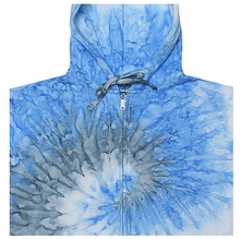 Load image into Gallery viewer, HAND TIE DYE ZIP HOODIE / 2  COLORS / XS TO XX-L