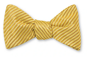 R P BOW TIE / PURE SILK / HAND MADE