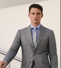 Load image into Gallery viewer, R P SUIT / 2 PEICE OR 3 PIECE VEST / SOLID MEDIUM GREY / CONTEMPORARY FIT