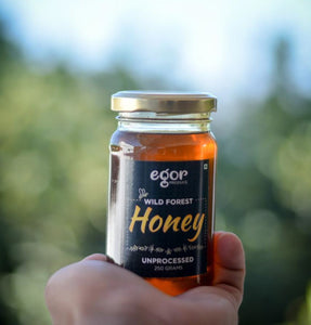 Organic Raw Honey - 250 gm