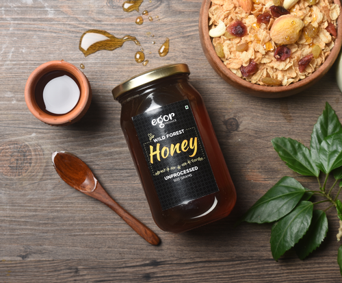 Organic Raw Honey - 500 gm