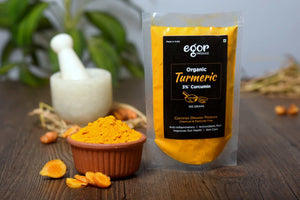 Organic Turmeric Powder - 100 gm