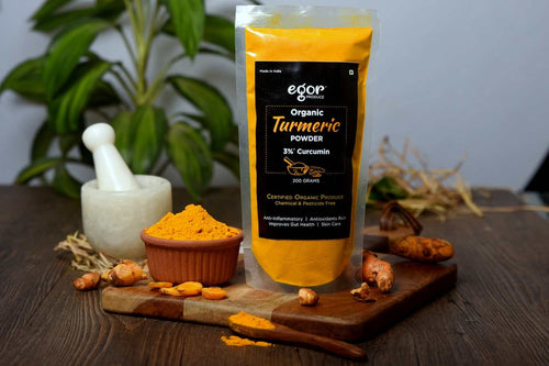 Organic Turmeric Powder - 200 gm