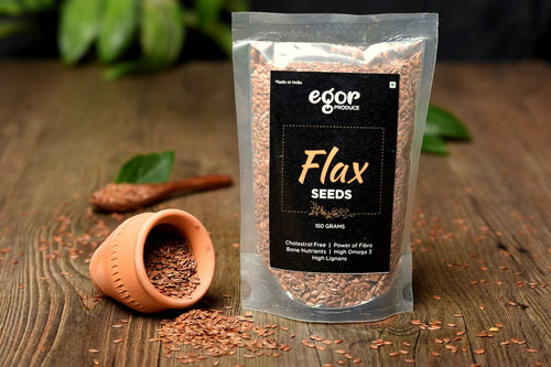 Organic Raw Flax Seeds - 150 gm