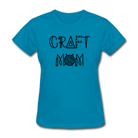 Craft Mom, Crafters Women's T-Shirt - turquoise