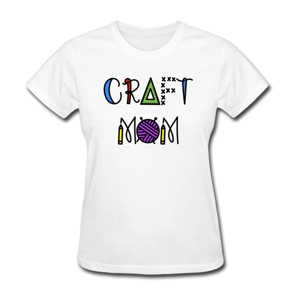 Craft Mom Women's T-Shirt - white
