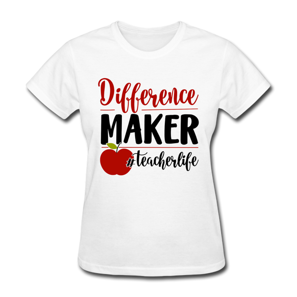 Back to School,Teacher Shirt, Teacher Classroom, Teacher Strong, Teacher Life, Women's, T-Shirt  Women's T-Shirt - white