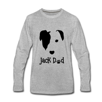 Jack Dad Men's Premium Long Sleeve T-Shirt - heather gray