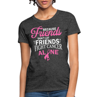 Cancer Fighting Shirt - heather black