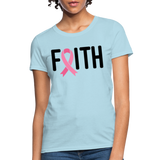 Faith, Breast Cancer Awareness Shirt