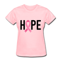 Cancer Awareness Shirt. Hope Cancer Shirt - pink