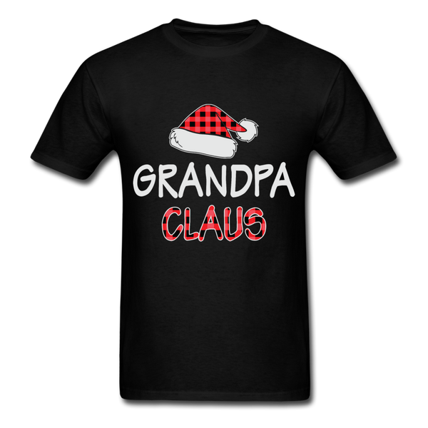 Grandpa Claus Unisex Christmas Pajamas Shirt - black