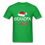 Grandpa Claus Unisex Christmas Pajamas Shirt - bright green