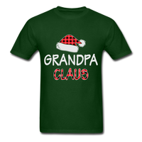 Grandpa Claus Unisex Christmas Pajamas Shirt - forest green