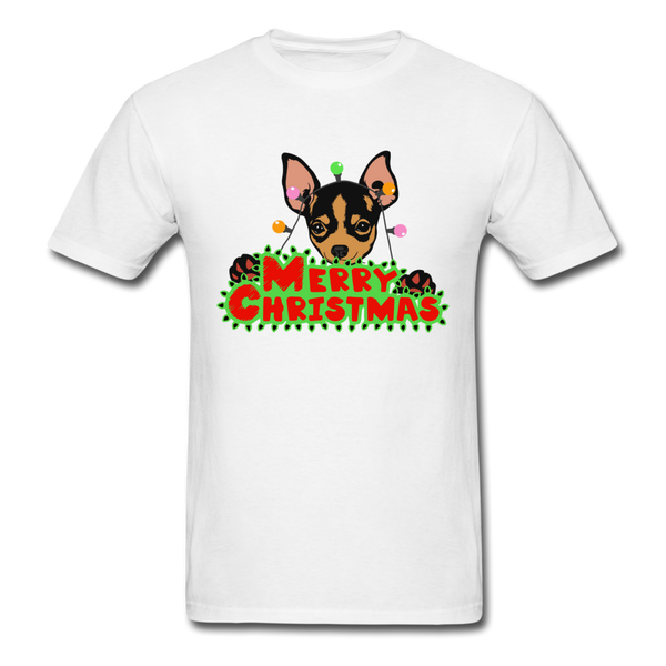 Merry Christmas Chihuahua Shirt, Gift for Dog Lover - white