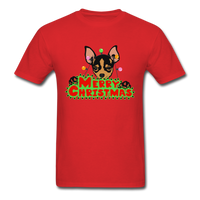 Merry Christmas Chihuahua Shirt, Gift for Dog Lover - red