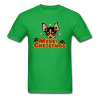 Merry Christmas Chihuahua Shirt, Gift for Dog Lover - bright green
