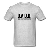 D.A.D.D. Dads Against Daughters Dating Shirt - heather gray